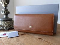 Mulberry Tree Classic Continental Wallet in Oak Natural Leather - SOLD