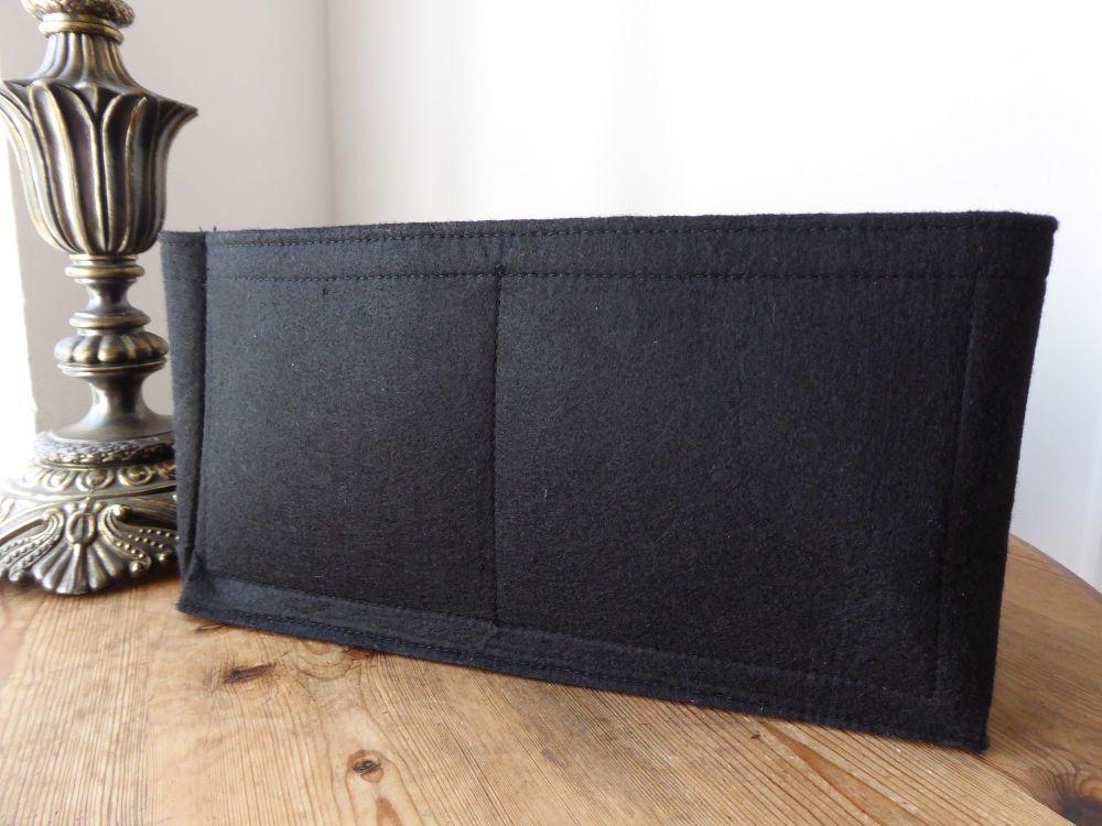 Unbranded Felt Handbag Liner in Black Suitable for Mulberry Bayswater