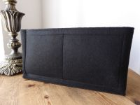 Unbranded Felt Handbag Liner in Black Suitable for Mulberry Bayswater - SOLD
