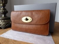 Mulberry Postmans Long Locked Purse in Oak Natural Leather - SOLD