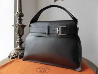 Hermés Etribelt in Black Veau Evergrain with Palladium Hardware