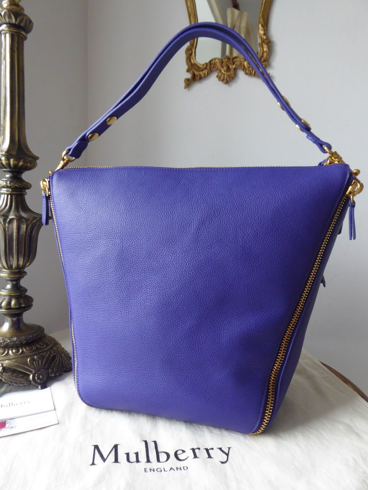 Mulberry Camden in Indigo Small Classic Grain Leather - New*