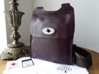 Mulberry Regular Antony in Oxblood Heavy Grain Leather with Shiny Dark Silver Hardware - SOLD