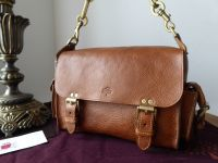 Mulberry Vintage Brooke Chain Strap Satchel in Oak Darwin Leather - SOLD