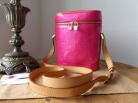 Louis Vuitton Sullivan Vertical Messenger in Fluro Fuchsia Vernis