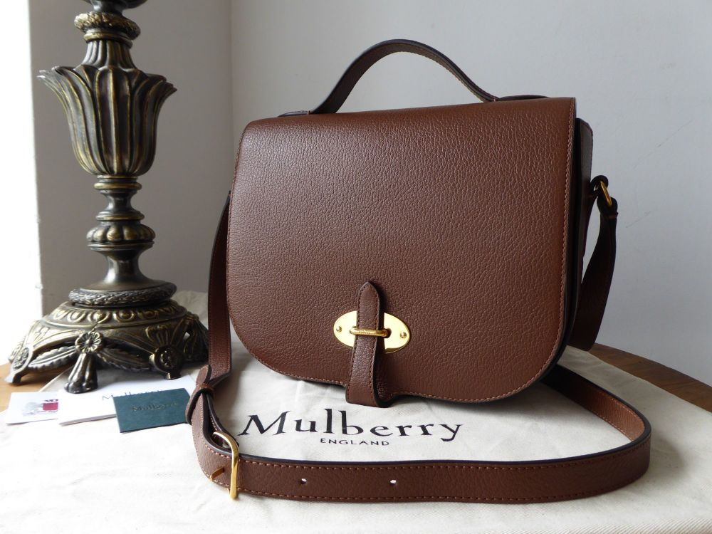 Mulberry Tenby in Tan Goat Textured Calf Leather - As New