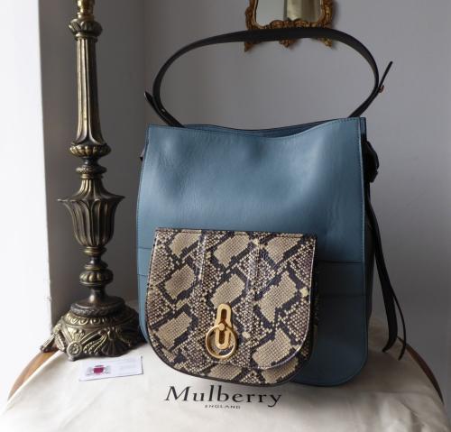 Mulberry Amberley Hobo in Dark Frozen ef49d49521bb3