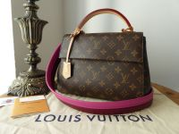 Louis Vuitton Cluny BB in Monogram Bordeaux Fuchsia - New*