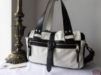 Mulberry Medium Mabel in Monochrome Grainy Leather - SOLD