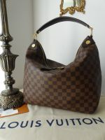 Louis Vuitton Louis Vuitton Duomo Hobo in Damier Ebene