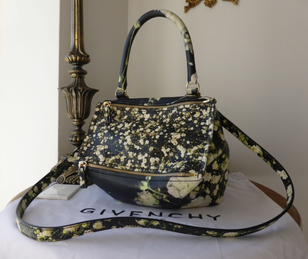 Givenchy Pandora 'Baby's Breath' in Floral Printed Calfskin