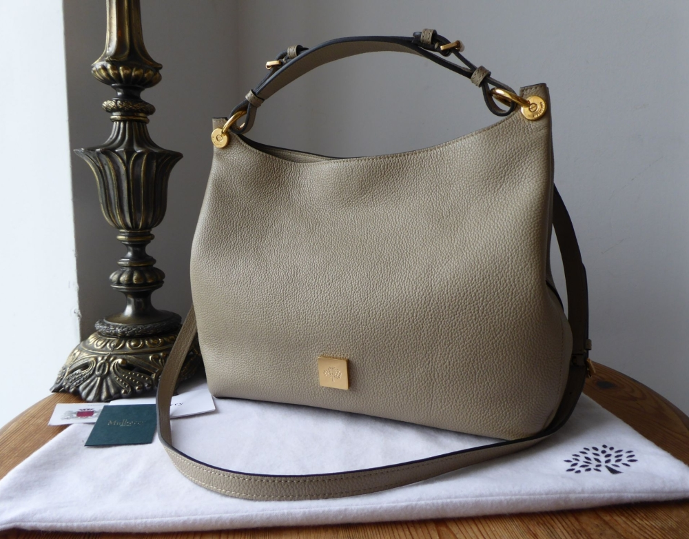 Mulberry Freya Smaller Sized Hobo in Dune Small Classic Grain - New*