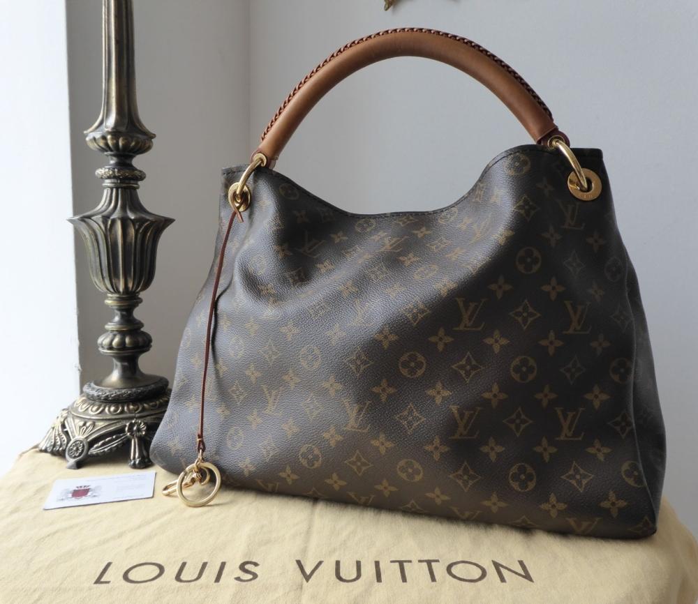 869caa5d6a03 Brands   Now Sold. Louis Vuitton Artsy MM in Monogram Vachette.