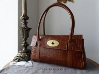 Mulberry Classic East West Bayswater in Oak Printed Leather