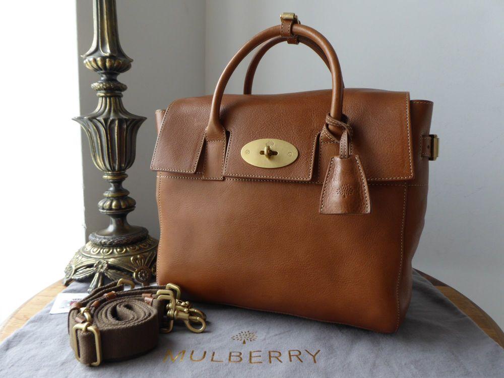 Mulberry Cara Delevingne Bag in Oak Natural Leather