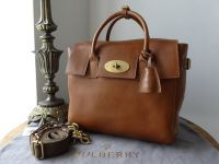 Mulberry Cara Delevingne Bag in Oak Natural Leather - New