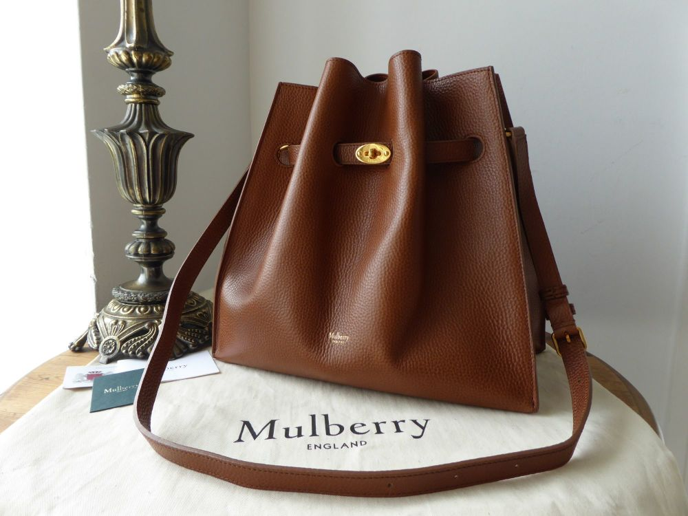 Mulberry Tynedale in Oak Small Grained Vegetable Tanned Leather