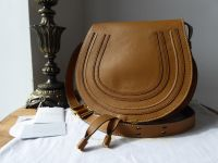 Chloe Marcie Medium Crossbody in Savanna Brown Calfskin - SOLD