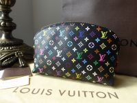 Louis Vuitton Cosmetic Pouch in Multicolore Noir - SOLD
