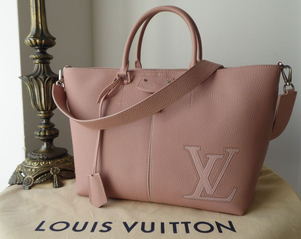 Louis Vuitton Pernelle Tote in Magnolia Pink Taurillon Leather - As New