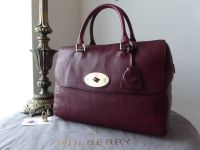 Mulberry Regular Del Rey in Black Forest Soft Matte Leather