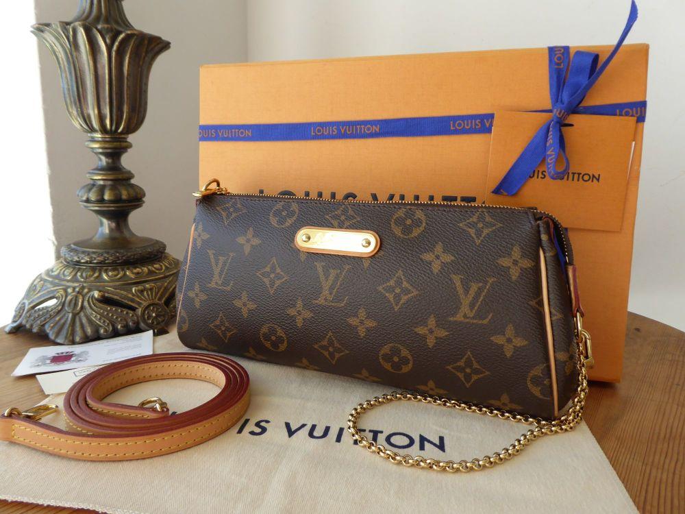 Louis Vuitton Eva Shoulder Clutch in Monogram Vachette