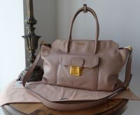 Miu Miu Large Tote in Cammeo Vitello Soft Calfskin - New*