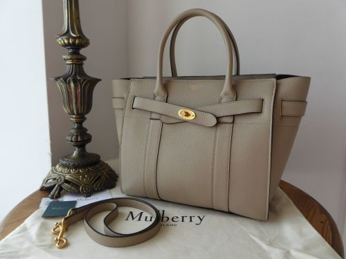 84556335a6 ... low cost mulberry small zipped bayswater in dune small classic grain  2b67c a729f