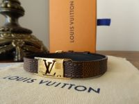 Louis Vuitton Sign It Wrap Bracelet in Damier Ebene - As New