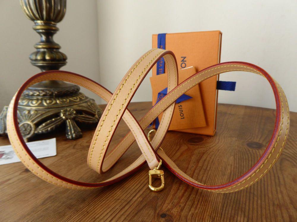 Louis Vuitton Shoulder Strap in Natural Calfskin Vachette - As New