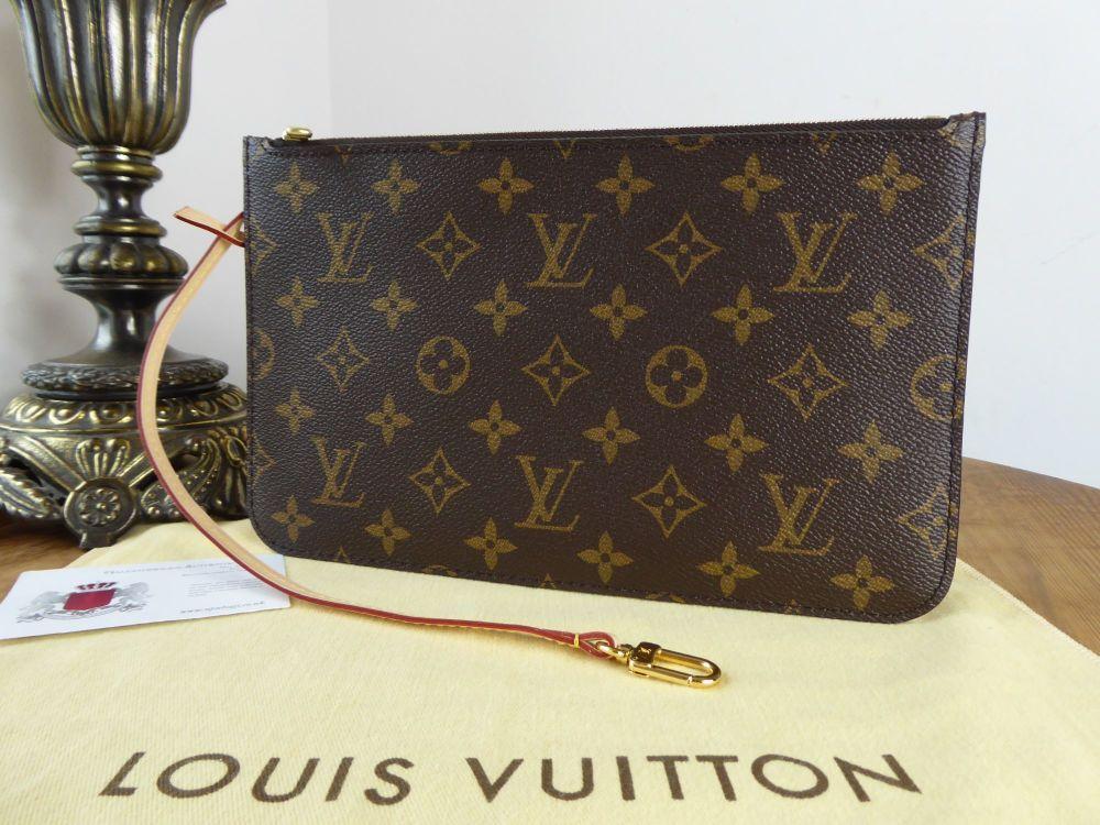 Louis Vuitton Slim Zip Pochette in Monogram Vachette from Neverfull MM - Ne