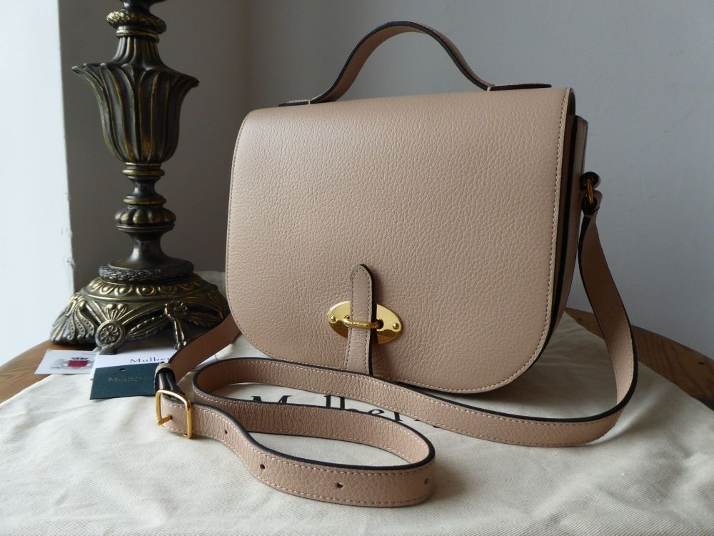 Mulberry Tenby in Rosewater Goat Textured Calf Leather - New