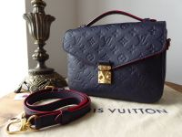 Louis Vuitton Pochette Metis in Marine Rouge Empreinte