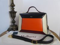 Mulberry Hopton in Oxblood, Orange and Black Smooth Calf - As New*