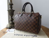 Louis Vuitton Speedy Bandouliere 25 in Damier Ebene without Shoulder Strap