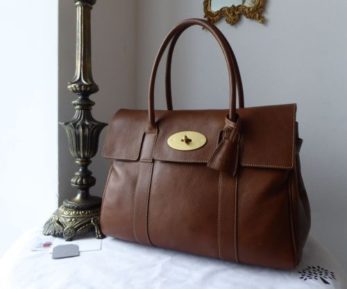 8bfe91196506 Mulberry Classic Heritage Bayswater in Oak Natural Leather - SOLD