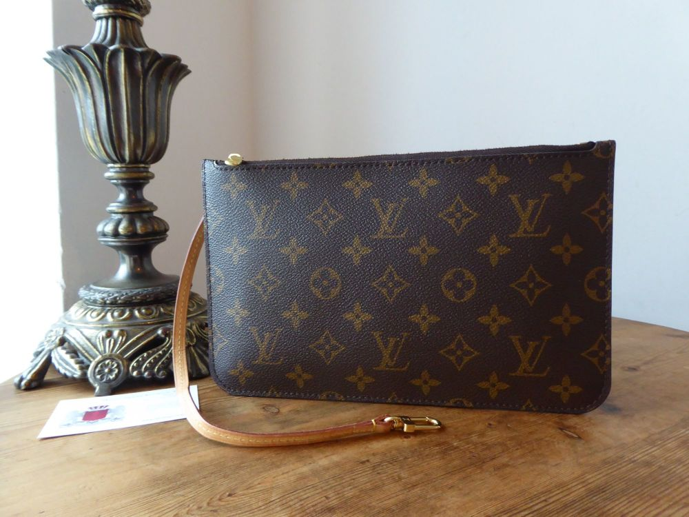 Louis Vuitton Slim Zip Pochette in Monogram Vachette from Neverfull GM
