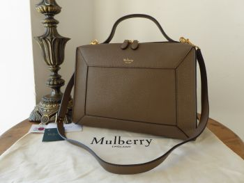 Mulberry Hopton in Clay Small Classic Grain - New