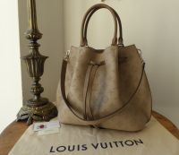 Louis Vuitton Girolata in Galet Mahina Calfskin with Zip Pouch - New*
