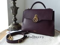 Mulberry Small Seaton in Oxblood Small Classic Grain