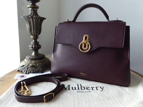 34830ec6de7e Mulberry Small Seaton in Oxblood Small Classic Grain - SOLD