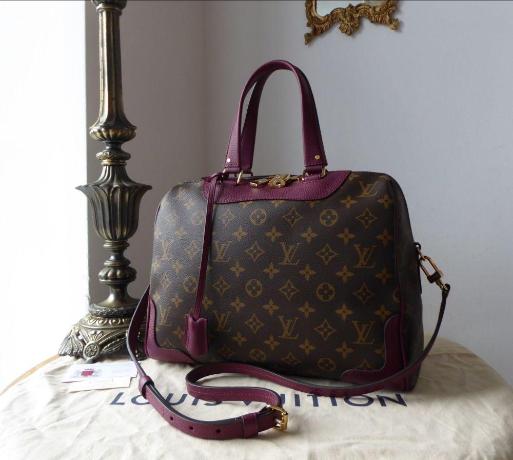 Louis Vuitton Retiro MM in Monogram Raisin - New*