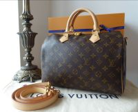 Louis Vuitton Speedy Bandouliere 30 in Monogram Canvas and Vachette