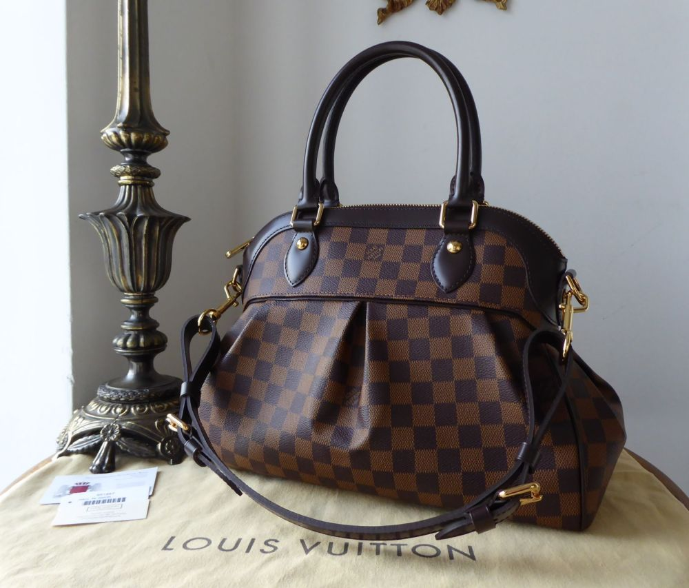 Louis Vuitton Trevi PM in Damier Ebene - New