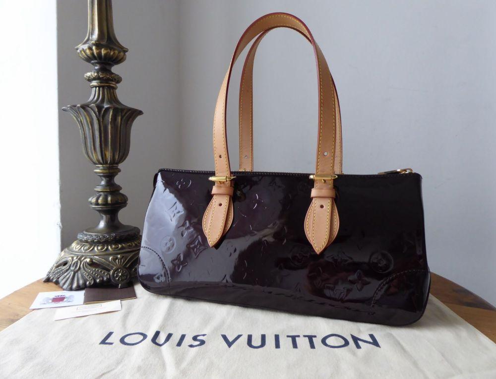 e4089cafb9c1 Louis Vuitton Rosewood Avenue Amarante Vernis Monogram - SOLD