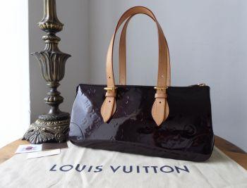 Louis Vuitton Rosewood Avenue Amarante Vernis Monogram - SOLD