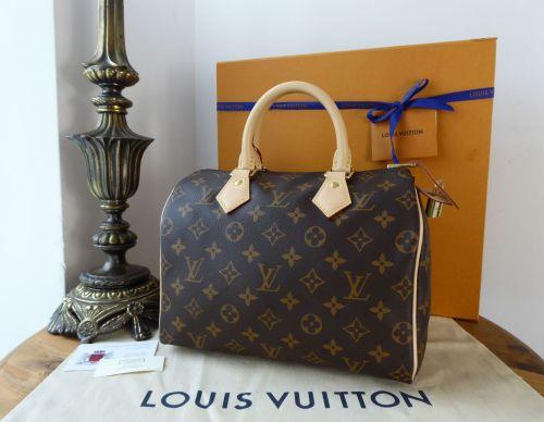 Louis Vuitton Speedy 25 in Monogram Vachette As New