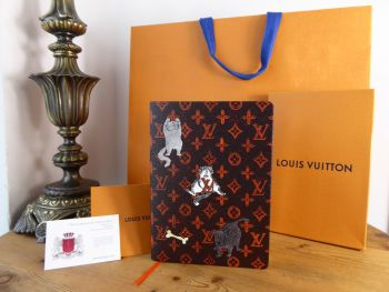 Louis Vuitton Ltd Ed Grace Coddington Clémence Catogram Notebook MM - SOLD