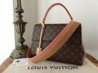 Louis Vuitton Cluny MM Monogram Sesame