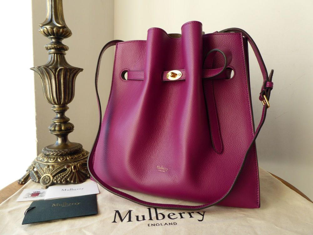 Mulberry Tyndale in Violet Small Classic Grain Leather - As New*